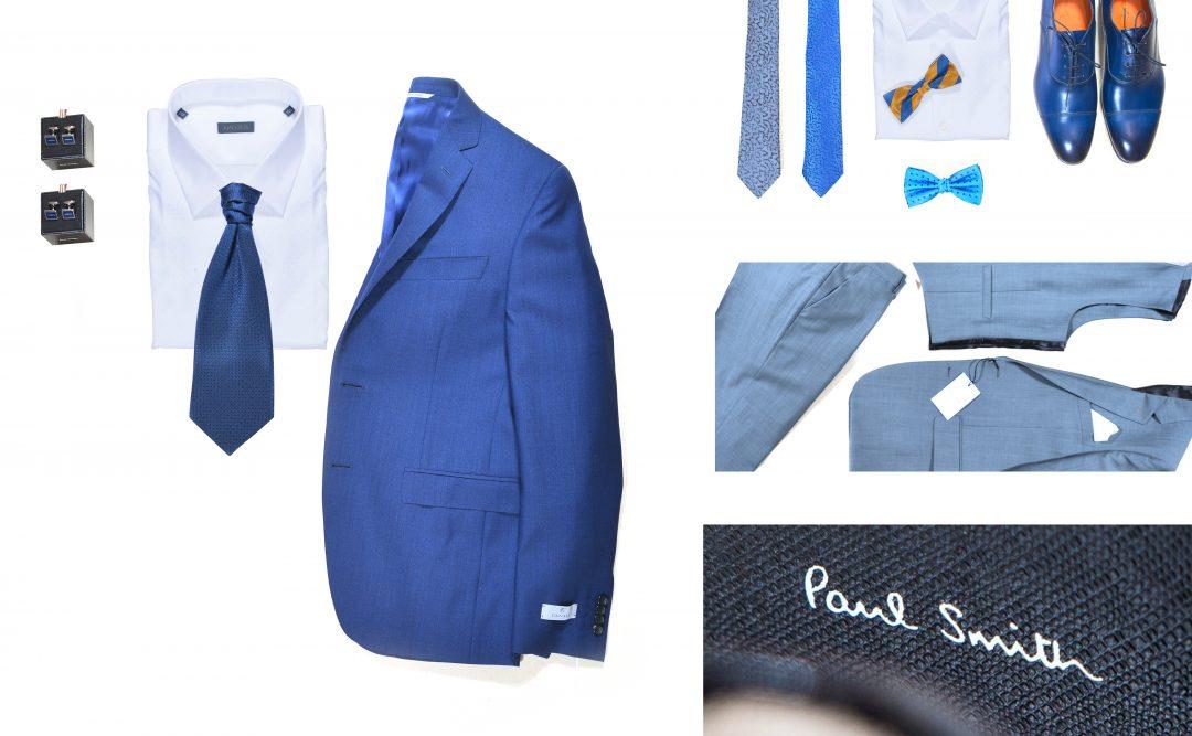 gillet et lavaliere Elios chemise Zegna, accessoires Nick Bronson et chaussures Santoni - Paul Smith